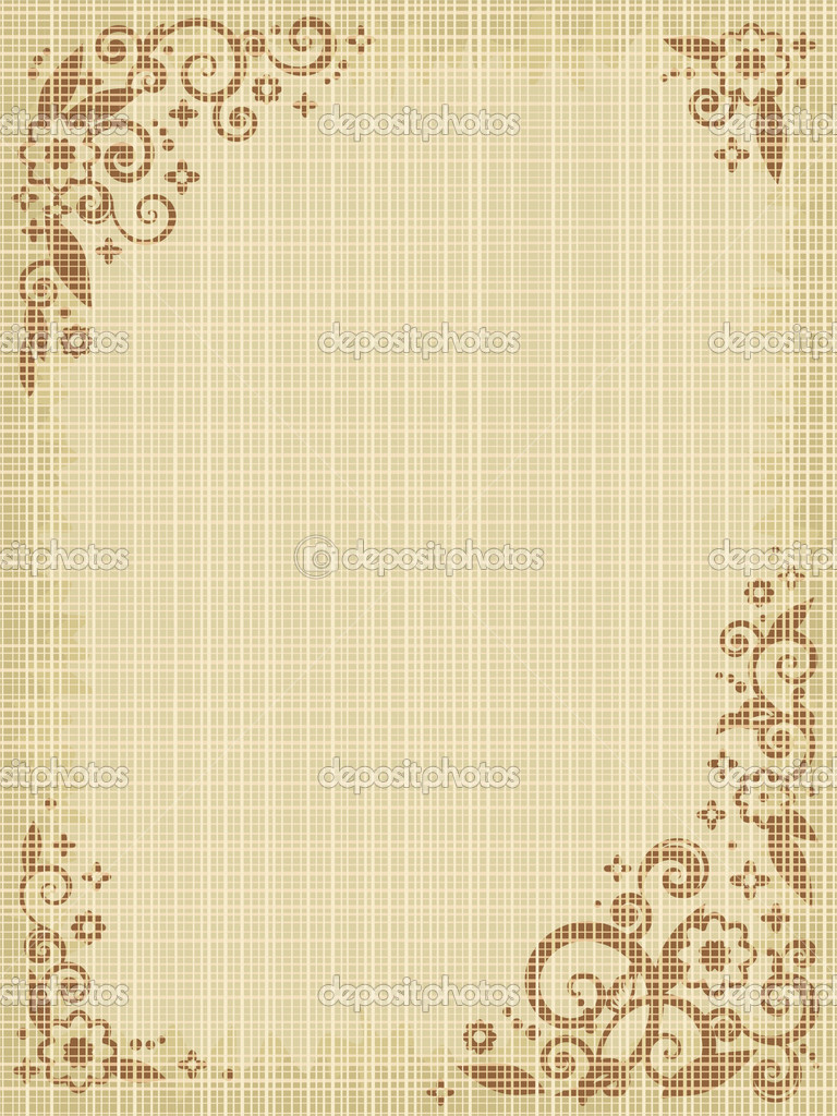 floral print canvas background � stock vector