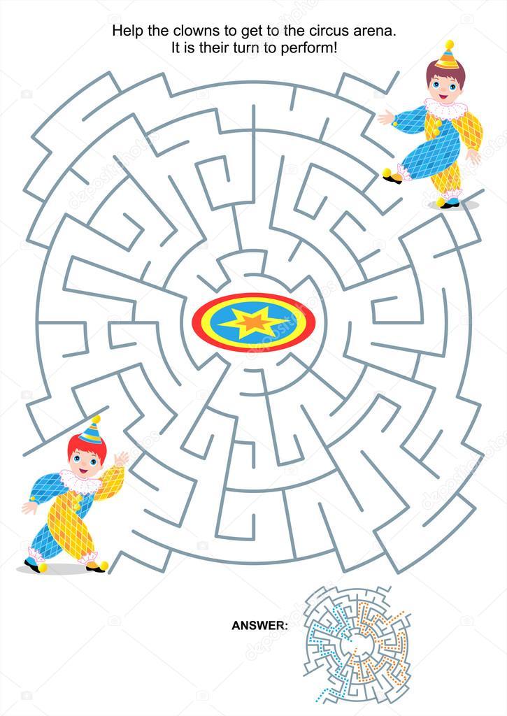 maze labyrinth spielen