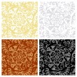 Seamless floral patterns — Stock Vector #3177589