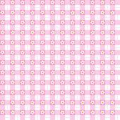 Bezszwowe różowy wzór kwiatowy tło — Wektor stockowy