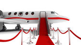 Business jet — Stock Photo