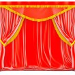 Foto Stock: Curtains