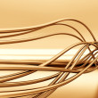 Fibre-optical metal cables - Lizenzfreies Foto