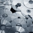 Technological background of the many new CDs — Stock Photo #17866407