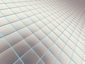 Abstract background from a square smooth bricks — 图库照片