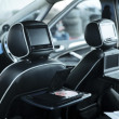 Interior of a modern car — Foto Stock