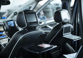 Interior of a modern car — Stock Photo