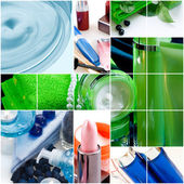 Cosmetics and hygiene products — Stock Photo