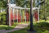 Pergola Garden — Stock Photo