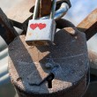 Love padlocks — Stock Photo #13760546