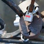 Love padlocks — Stock Photo #13760549