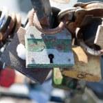 Love padlocks — Stock Photo #13760550