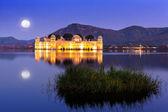 The palace Jal Mahal at night — Stock Photo