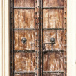 Old wooden door. — Stock Photo