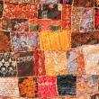 Stock Photo: Indipatchwork carpet