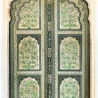 A Hand Painted Old Doors inside Hawa Mahal. — Stock Photo