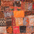 Stock Photo: Indian patchwork carpet