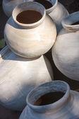 Clay potten voor verkoop. india — Stockfoto