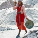 Salt works, Sambhar salt lake, Rajasthan, India — Stock Photo #21151859