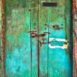 Old dilapidated wooden door. — Stock Photo #22437759