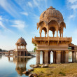 Stock Photo: Gadi Sagar (Gadisar), Jaisalmer, Rajasthan, India, Asia