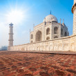 Taj Mahal. India — Stock Photo