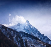 "Mount ""Aguille du Midi"". Mont Blanc massif, Alps. France. — Stock Photo"