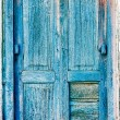 Old wooden shutters — Stock Photo