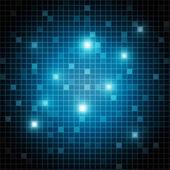 3d abstrakt business, wissenschaft oder technologie-vektor-hintergrund — Stockvektor