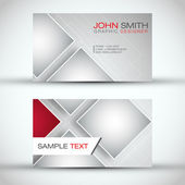 Modern Business - Card Set | EPS10 Vector Design — Stok Vektör