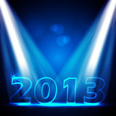 2013 New Years Eve Vector Design — Stock Vector