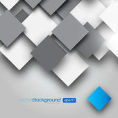 Fyrkantig tomt bakgrund - vektor designkoncept — Stockvektor