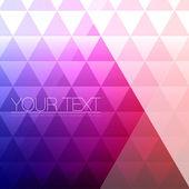 抽象三角形背景设计-几何矢量图 — 图库矢量图片