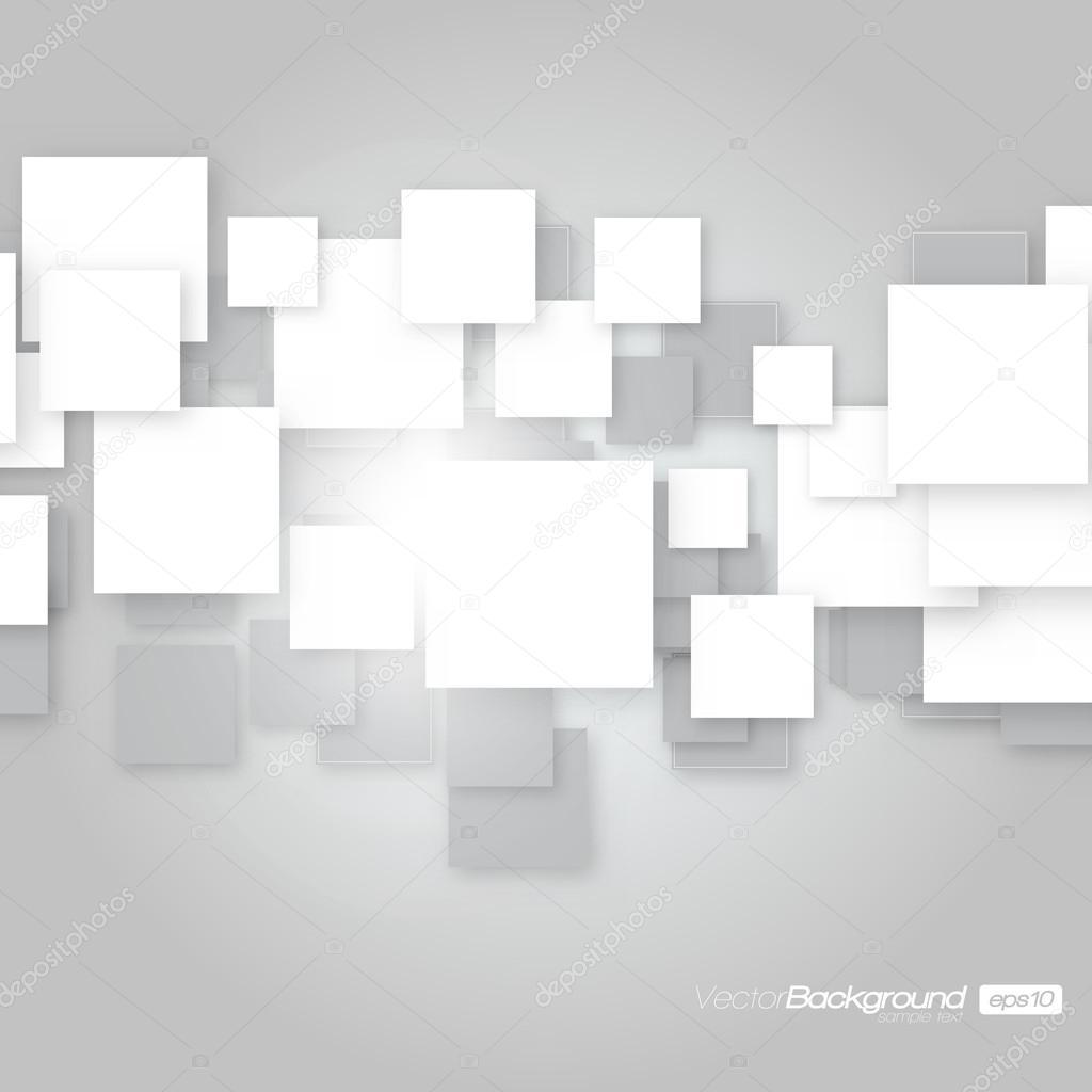 fond carr blanc concept de design vectoriel image vectorielle hunthomas 12848581. Black Bedroom Furniture Sets. Home Design Ideas