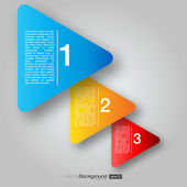 Próximos caixas de seta passo | projeto eps10 vector — Vetorial Stock