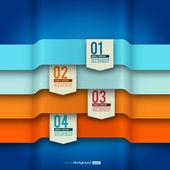 Disposición de diseño moderno | elementos infográficos | esqueleto eps10 vector — Vector de stock
