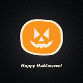 Happy Halloween | Vector Design Illustration — Stock Vector