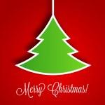 Christmas Tree Vector Background | EPS10 Illustration — Stock Vector #14242131