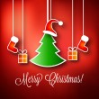 Merry Christmas Vector Illustration — Stock Vector #17191555