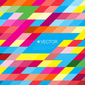 Colorful Mosaic Vector Background — Stok Vektör