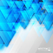 Abstract Triangle Background — Vector de stock
