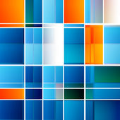 Abstract Squares Background — Vettoriale Stock