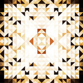 Brown Mosaic Vector Background — 图库矢量图片