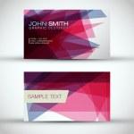 Business Card Set — Stock Vector #20991419