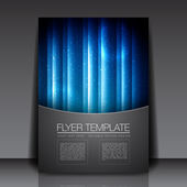 Flyer Template — Stock Vector