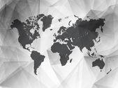 3D vector world illustration — Stock Vector