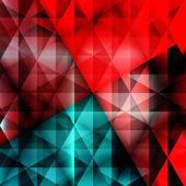 Abstrakt trianglar business design — Stockvektor