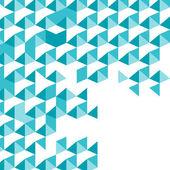 Mosaico blu sfondo vettoriale — Vettoriale Stock