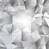 Abstract Triangles Vector Background — Vettoriale Stock