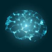 Brain Concept Vector Design — Stock Vector